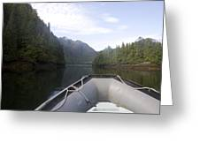 Nobody,boats, Ropes, Islands,horizontal Greeting Card by Taylor S. Kennedy