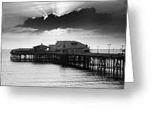 North Pier Greeting Card by Aetherial Pictography