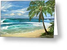 North Shore Greeting Card by Lisa Reinhardt