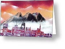North West Dawn Greeting Card by Marc Chambers