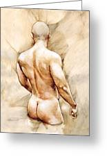 Nude 40  Greeting Card by Chris  Lopez