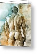 Nude 51 Greeting Card by Chris  Lopez
