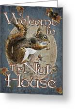 Nut House Greeting Card by JQ Licensing
