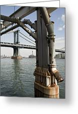 Ny Composition 4 Greeting Card by Art Ferrier