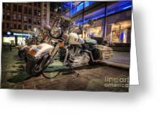 NYPD Bikes Greeting Card by Yhun Suarez