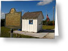 Ochopee Post Office Greeting Card by David Lee Thompson