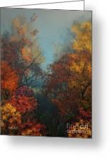 October Greeting Card by Jutta Maria Pusl