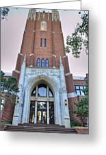 Oklahoma City University Greeting Card by Malania Hammer