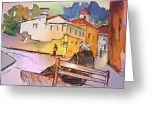 Old And Lonely In Portugal 07 Greeting Card by Miki De Goodaboom