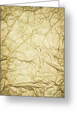 Old Brown Paper Greeting Card by Blink Images