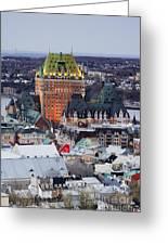 Old City Skyline Greeting Card by Jeremy Woodhouse