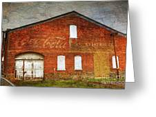 Old Coca Cola Building Greeting Card by Paul Ward