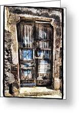 Old Door Greeting Card by Mauro Celotti