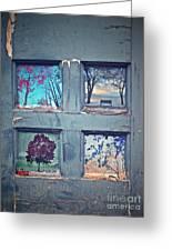 Old Doorways Greeting Card by Tara Turner