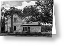 Old Florida Farmhouse Greeting Card by Lynn Palmer