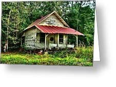 Old Florida Vi Greeting Card by Julie Dant