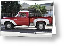 Old Ford 100 Truck . 5d16794 Greeting Card by Wingsdomain Art and Photography