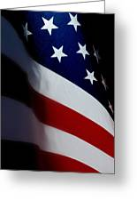 Old Glory - The Flag Of A Proud Country Greeting Card by Steven Milner