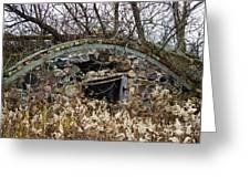Old Ice House Greeting Card by Ms Judi