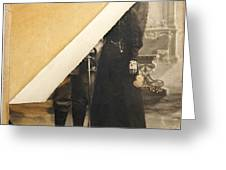 Old image Greeting Card by BERNARD JAUBERT
