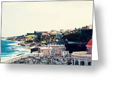 Old San Juan Puerto Rico Greeting Card by Kim Fearheiley