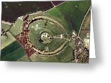 Old Sarum Greeting Card by Getmapping Plc