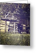 Old Shed Greeting Card by Joana Kruse