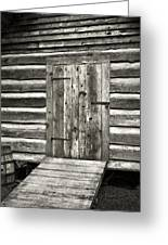 Old Shed Greeting Card by Patrick M Lynch