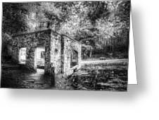 Old Spring House Greeting Card by Scott Norris