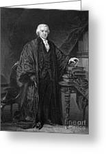 Olvier Ellsworth (1745-1807). Chief Justice Of The United States Supreme Court, 1796-1799. Steel Engraving, 1863 Greeting Card by Granger