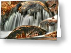 On The Rocks Greeting Card by Darren Fisher