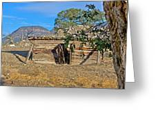 ONCE UPON A TIME IN NEW MEXICO Greeting Card by KURT GUSTAFSON