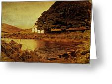 Once Upon A Time. Somewhere In Wicklow Mountains. Ireland Greeting Card by Jenny Rainbow