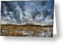 One Autumn Day Greeting Card by Vladimir Kholostykh