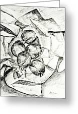 Onions Greeting Card by Lynda K Boardman
