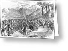 Opera: Grand Duchess, 1867 Greeting Card by Granger