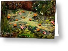 Ophelia Greeting Card by Eugene James