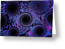 Optical Illusion Greeting Card by Andee Design