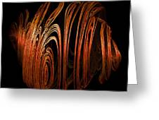 Orange Peel Greeting Card by Michael Durst
