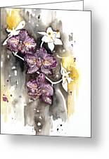 Orchid 13 Elena Yakubovich Greeting Card by Elena Yakubovich