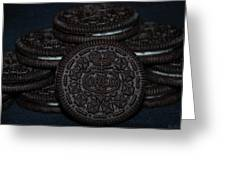 Oreo Cookies Greeting Card by Rob Hans