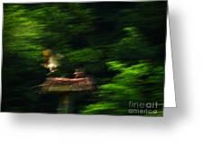 Osprey Motion Greeting Card by Rrrose Pix
