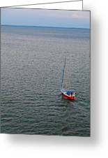 Out To Sea Greeting Card by Chad Dutson