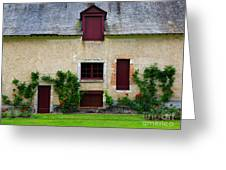 Outbuildings Of Chateau Cheverny Greeting Card by Louise Heusinkveld