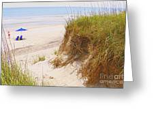 Outerbanks Greeting Card by Lydia Holly