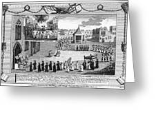 Oxford Martyrs, 1556 Greeting Card by Granger