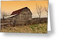 Ozark Barn 1 Greeting Card by Marty Koch
