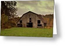 Ozark Barn 5 Greeting Card by Marty Koch