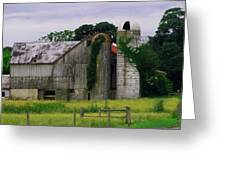 Pa Barn Greeting Card by Dottie Gillespie