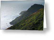 Pacific Coast Shoreline Iv Greeting Card by Steven Ainsworth